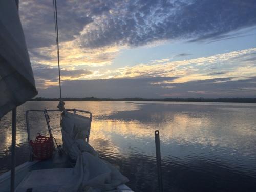 Sunrise on Econfina River, FL
